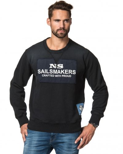 North Sails Crew Neck Patch Black
