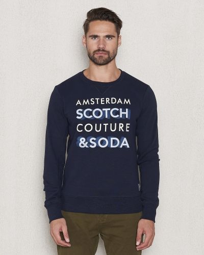 Sweatshirts Crewneck Sweat 02 Night från Scotch & Soda