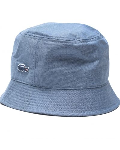 Hatt Croco Buckethat 3GF Denim Blue från Lacoste