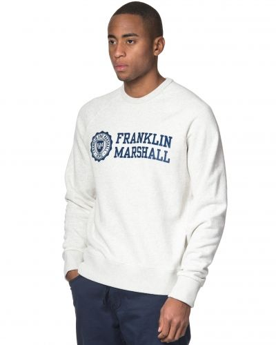 Franklin & Marshall Denim Fleece Sweat Original Grey