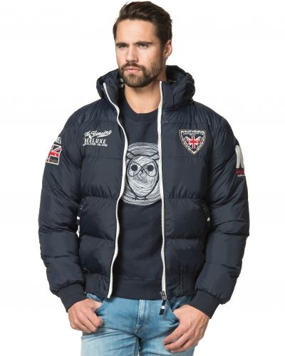 Höst- och vinterjacka Desteron Jacket Navy från Deeluxe