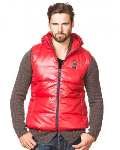 Replay Down Vest Red