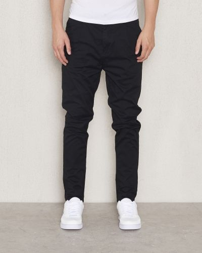 Junk De Luxe Dropped Chino Black