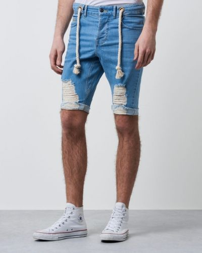 Shorts Echo Shorts Denim Blue från Somewear