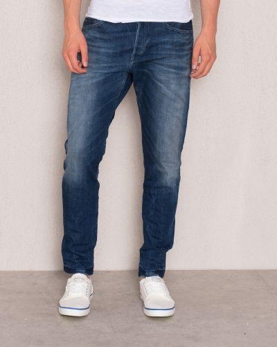 Till herr från Replay, en blå blandade jeans.