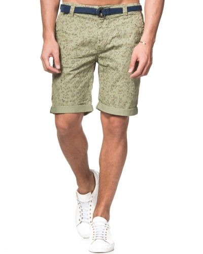 Dstrezzed Fantasy Print Belt Shorts Cement
