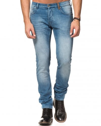 Till herr från Clay Cooper, en blå jeans.