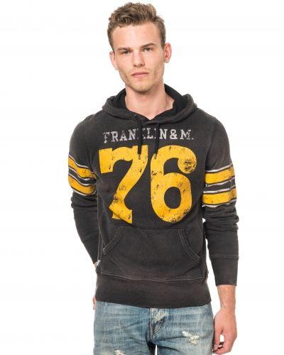 Franklin & Marshall Football Hoodie Black
