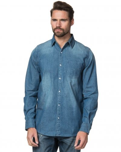Mouli Frank Denim Shirt Classic Blue