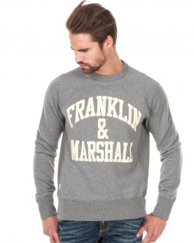 Franklin & Marshall Franklin Logo Sweat 0106 Greymelange