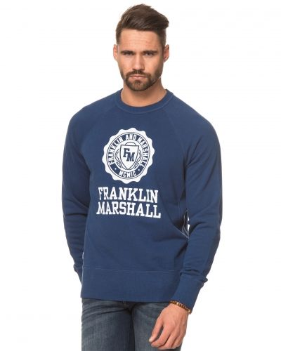 Franklin & Marshall Franklin Logo Sweat True Royal