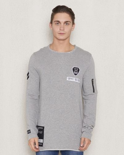 Frans Sweater Grey Adrian Hammond sweatshirts till killar.