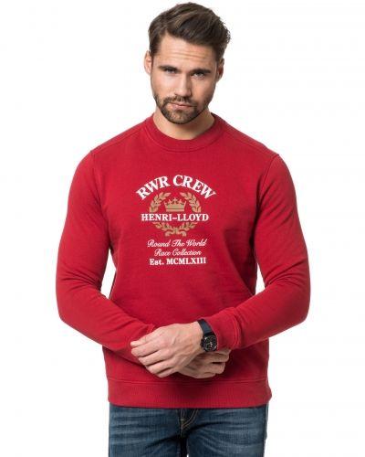 Sweatshirts Fransham Crew Sweat Rosso från Henri Lloyd