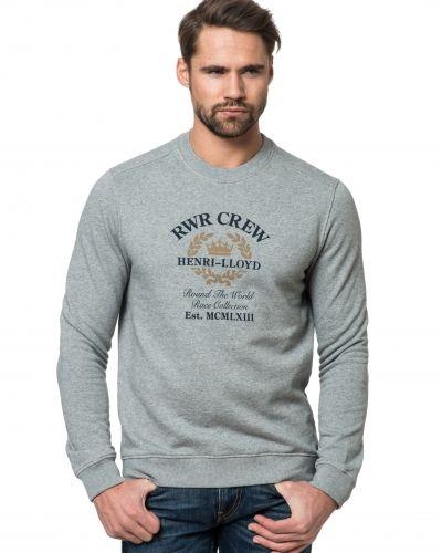 Grå sweatshirts från Henri Lloyd till killar.