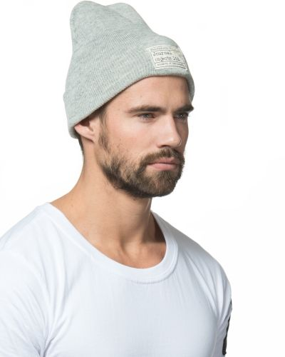 Journal Objects Ltd Fred Beanie Lt Grey Melange