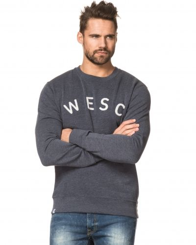 WeSC Frithiof Blue Iris Crewneck Sweatshirt