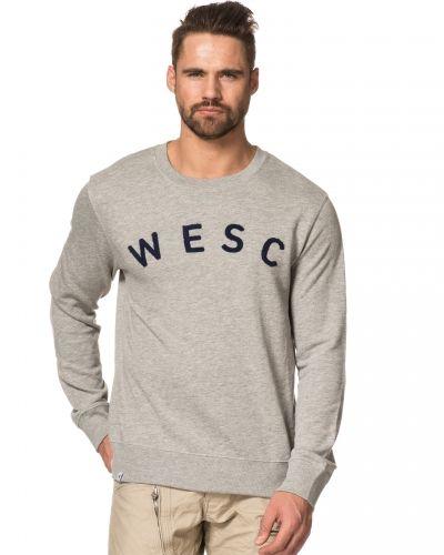 WeSC Frithiof Grey Melange Crewneck Sweatshirt