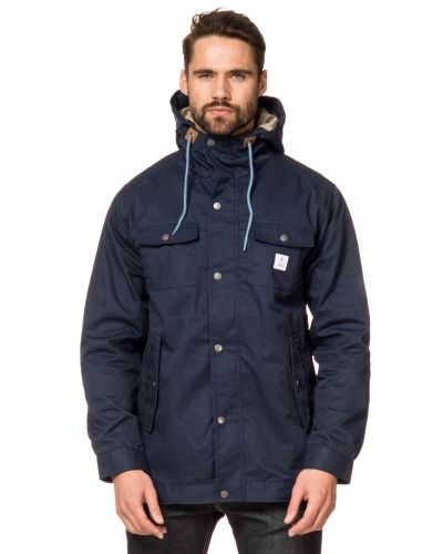 WeSC Gaius Blue Iris Hooded Parka