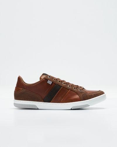 Grand Tan/Dk Björn Borg sneakers till herr.