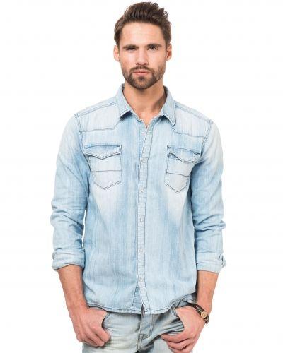 Jeansskjorta från Hilfiger Denim till herr.