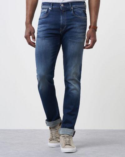 Blå blandade jeans från Replay till herr.
