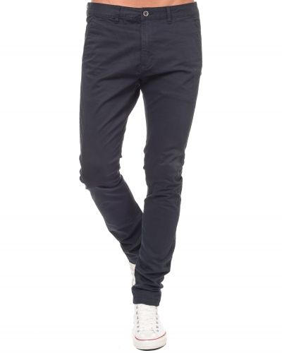 Chinos Heywood Chino Deep Blue från Dr.Denim
