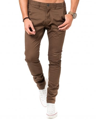 Chinos Heywood Choclate från Dr.Denim