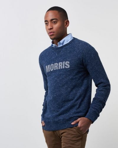 Sweatshirts Hicks Sweatshirt 62 Blue från Morris