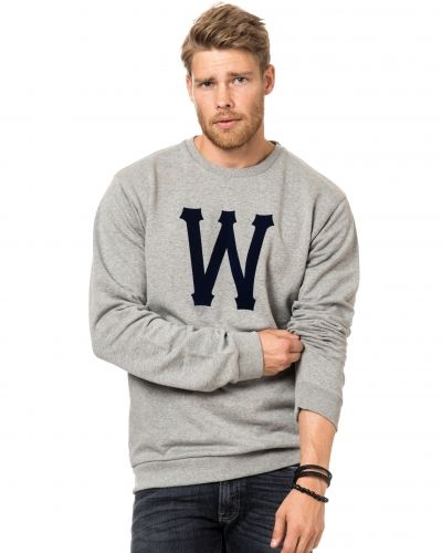 WeSC Homerun Sweat 910 Grey Melage