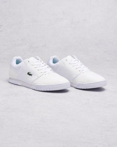 Vit sneakers från Lacoste till herr.