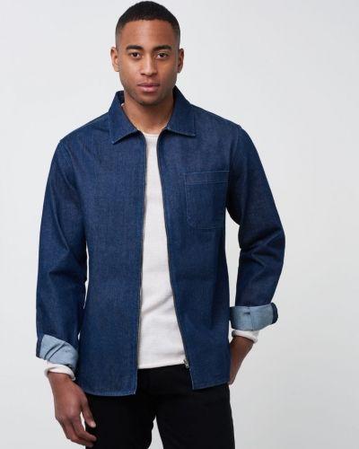 Jeansskjorta från Clay Cooper till herr.