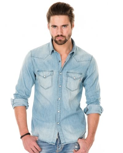 fdc6493a8ba3 Replay jeansskjorta till herr.