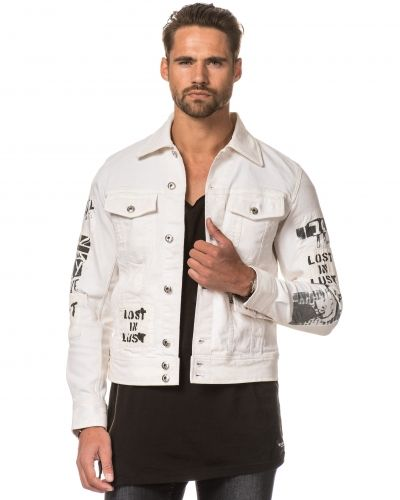 Jeansjacka Jim - Patch 129 White från Diesel