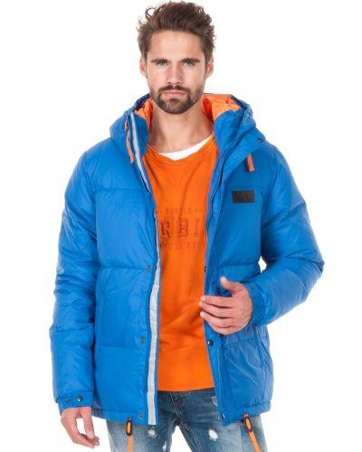 Mouli Jimmy Bubble Goose Strong Blue Jacket