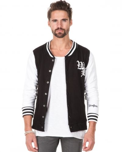 John Varsity Jacket Black White William Baxter sweatshirts till killar.