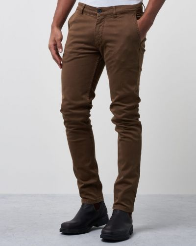 Brun chinos från Velour By Nostalgi