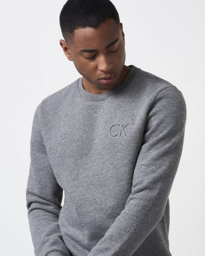 Calvin Klein Kapler Logo Sweat 046 Heather