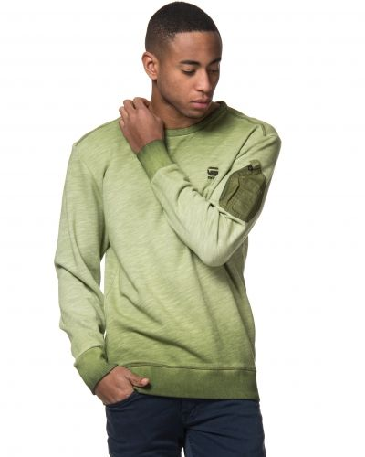 G-Star Kendo Over Dye Sweat Caval Green