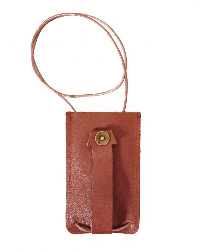 Key Holder Leather Tan - P.A.P - Plånböcker