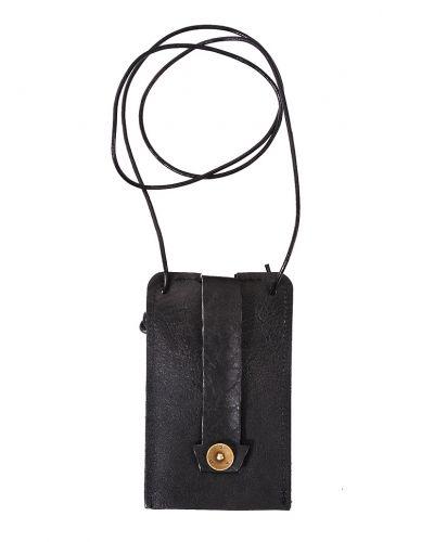 Key Holder Leather Black - P.A.P - Plånböcker