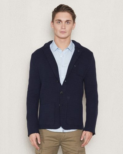 Dstrezzed Knitted Blazer Wool Black/Dark
