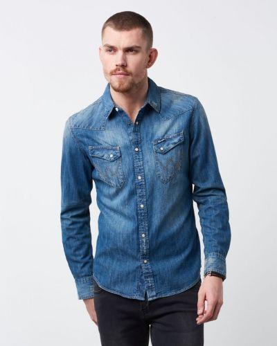 Jeansskjorta från Wrangler till herr.