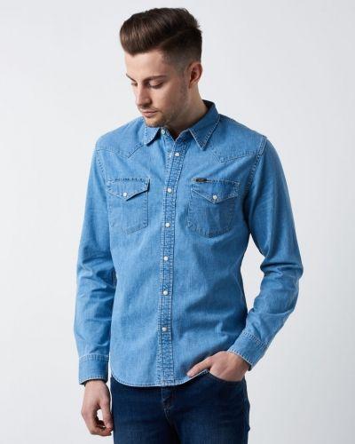 Jeansskjorta från Lee till herr.