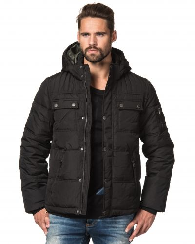 Adrian Hammond Leon Padded Jacket Black