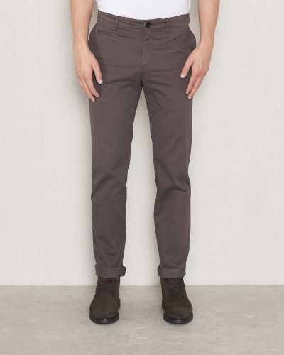 Filippa K Liam Heavy Cotton Chino Black Forest