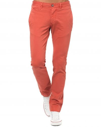 Morris Light Twill Chino Red