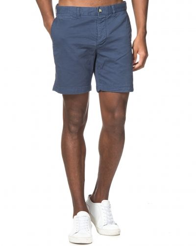 Morris Light Twill Shorts Blue