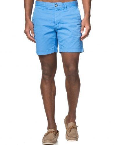 Morris Light Twill Shorts Light Blue