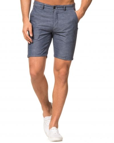 Knowledge Cotton Apparel Linen Shorts 1097 Dark