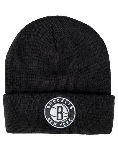 Mitchell & Ness Logo Beanie Brooklyn Nets Black